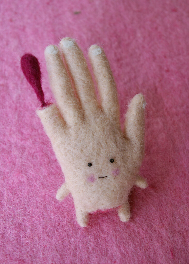 Main au doigt coupé